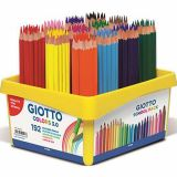 Schoolpack 192 crayons GIOTTO COLORS 3.0