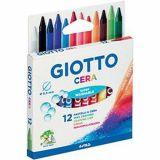 Pochette 12 crayons cire Omyacolor Giotto
