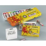Boîte 12 Cray-pas Junior Artist 60 mm Ø 8 mm