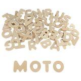 Lettres capitales bois à décorer