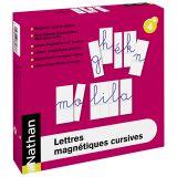 Lettres magnétiques cursives