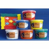 Ass.6 pots 350g peinture structuree omega