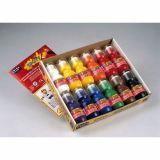 Assortiment de 12 flacons 70 ml couleurs assorties spoty