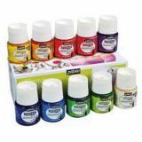 Assortiment 10 flacons 45ml vitrea pebeo. couleurs brillantes