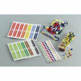 Pochette 10 planches de 96 mosaïques adhesives.