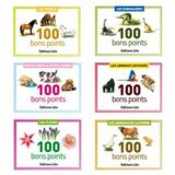 Bons points 5,7 x 7,8 cm (Boîte de 100) - dinosaures