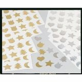 Pochette 24 planches A4 soit 840 gommettes prédécoupées