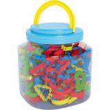 Pot de 150 emporte-pièces plastique
