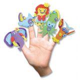 Atelier marionnettes à doigts  (caoutchouc mousse)