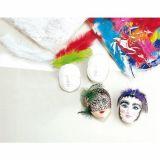 Sachet 100 plumes multicolores
