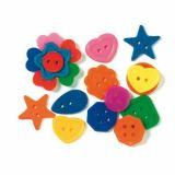 Sachet de boutons de formes et couleurs différentes