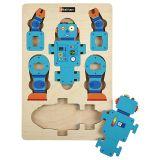 Première maquette - Le robot