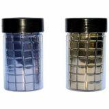 Pot 250 g mosaïque verre - or