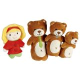 Marionnettes à doigts Boucle d'or et les 3 ours