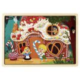 Puzzle bois 18 pièces - Hansel et Gretel